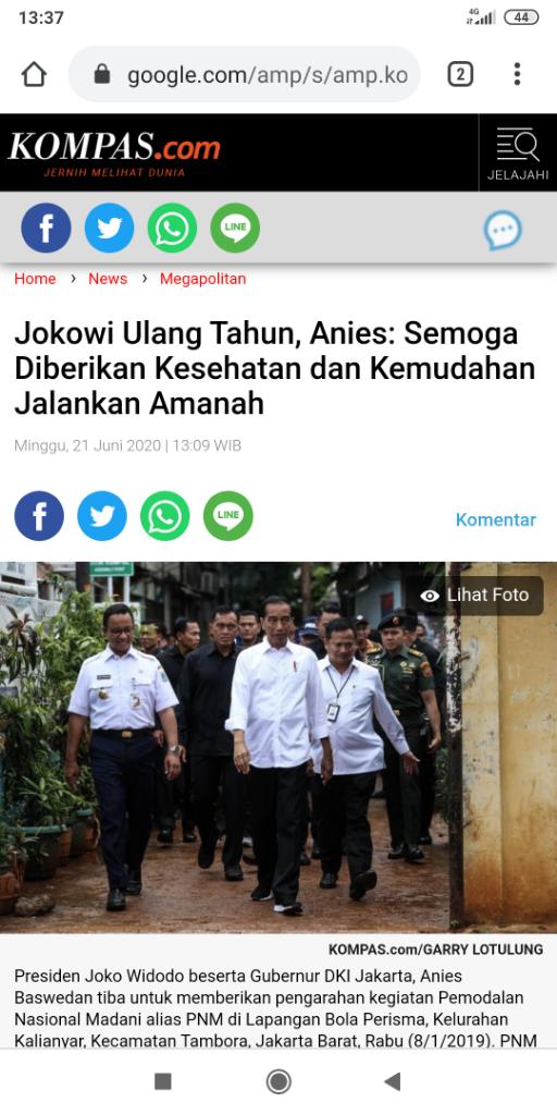 Dihujat Soal Ucapan Ultah untuk Jokowi, Baim Wong: Kok Jadi Salah Ya?