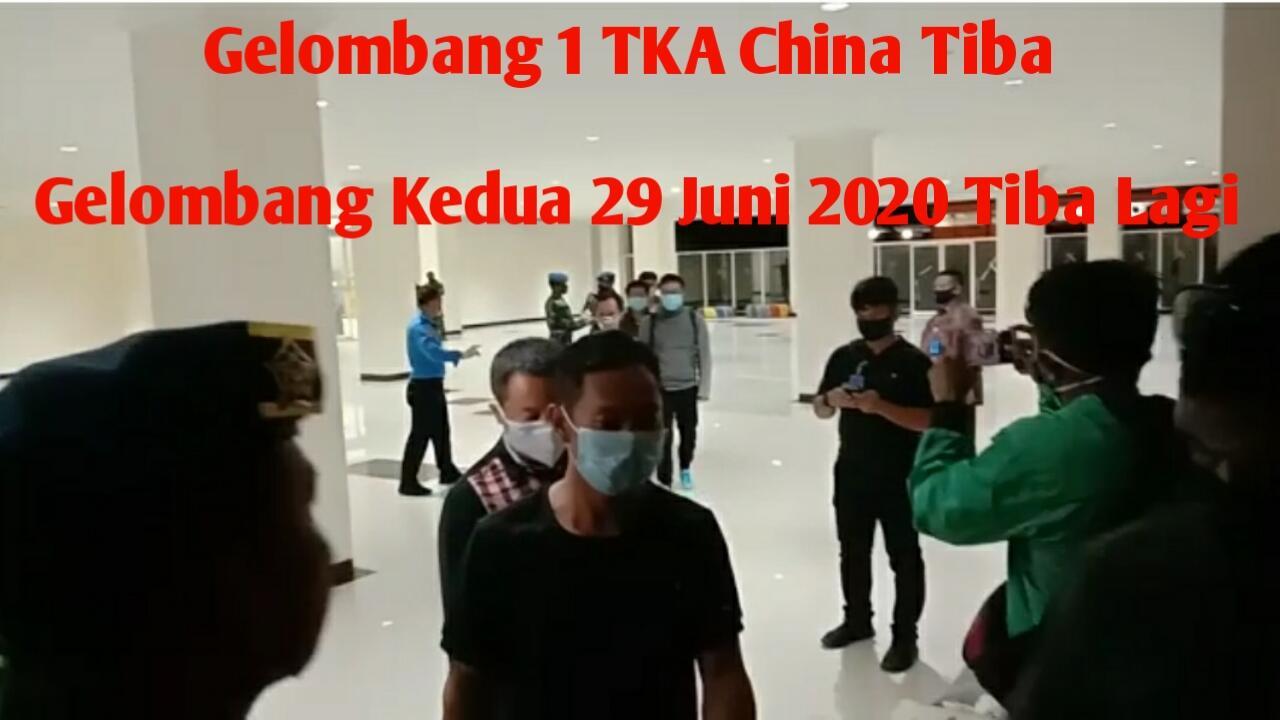 Ini Jadwal Kedatangan Gelombang Kedua TKA China ke Sulawesi Tenggara