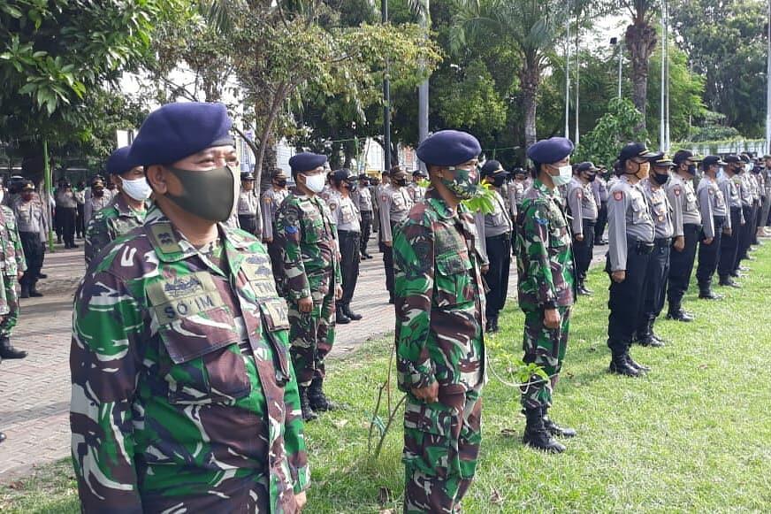 Persiapan Kunjungan RI 1, Lanal Banyuwangi Laksanakan Apel Gelar Pasukan Pam VVIP