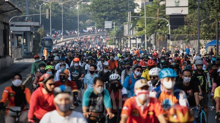 Car Free Day Jakarta Ditengah Covid19, amankah ?