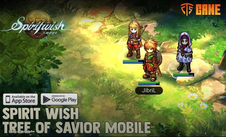 Spiritwish, Game RPG dengan Fitur Menarik