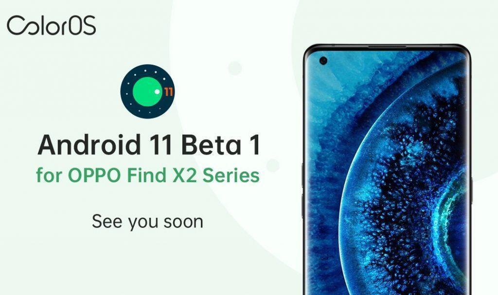 ColorOS Rilis Android 11 Beta untuk OPPO Find X2 Series