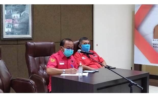 Agus Ambo Djiwa Hadiri Rapat Konsolidasi Organisasi DPP PDIP Melalui Vidcon