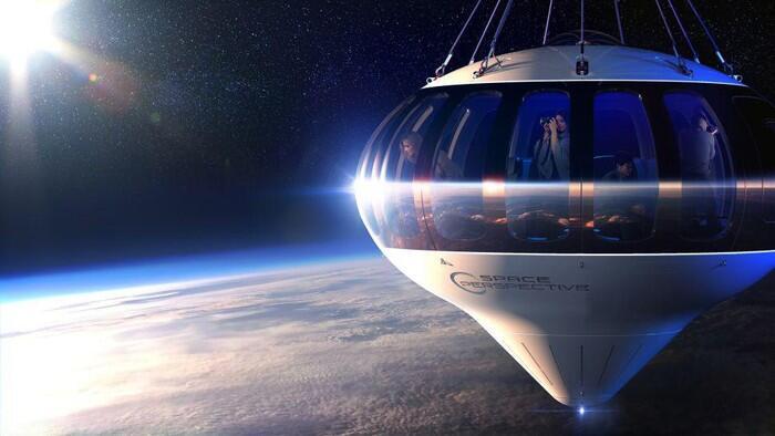Bukan Pake Pesawat, Wisata ke Antariksa Bisa Pake Balon Udara ini!