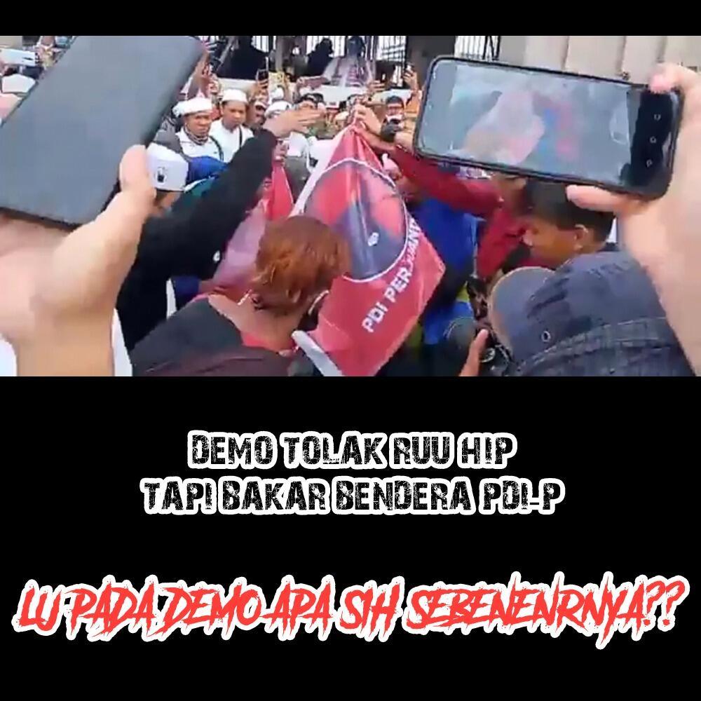 Dua Wakil Ketua DPR Temui Perwakilan Massa Demo Tolak RUU HIP