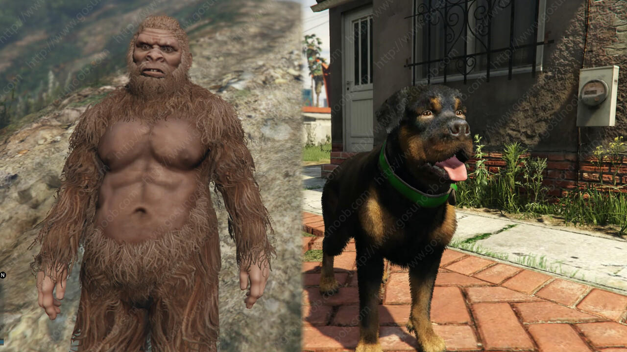 Kumpulan Cheat GTA 5, Bisa Berubah Menjadi Bigfoot?