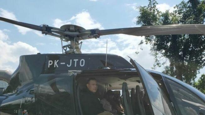 Firli Bahuri Naik Helikopter Mewah ke Baturaja, KPK: Itu Sewa