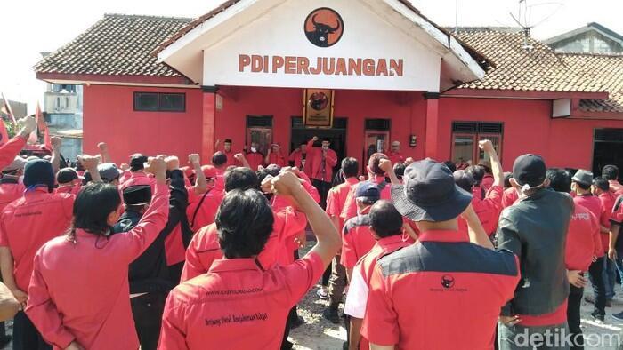 Kecam Pembakaran Bendera, PDIP Banjarnegara Apel Siaga-'Merahkan' Wilayah