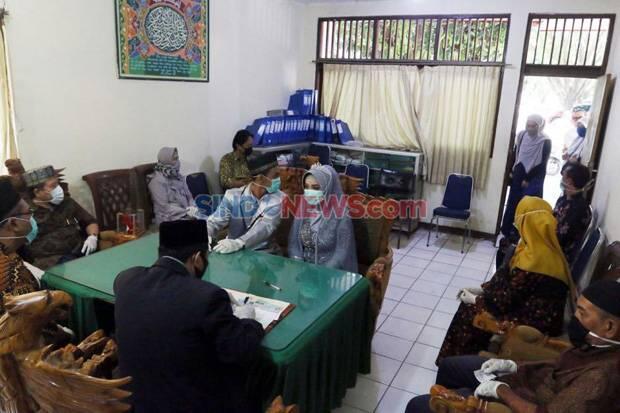 Ada 28.495 Pengantin Baru Menikah saat Pandemi Covid-19 di Banten