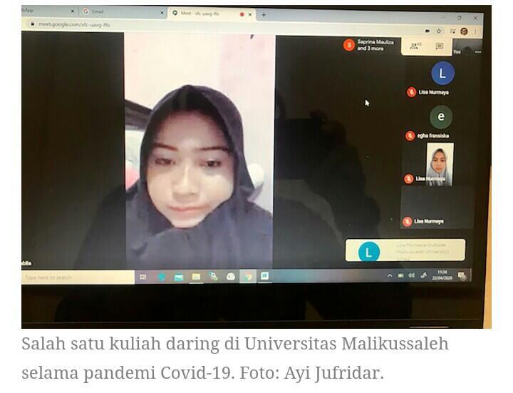 Nasib Pelajar Tidak Kelar-kelar Selama Pandemi Virus COVID-19 Menyebar