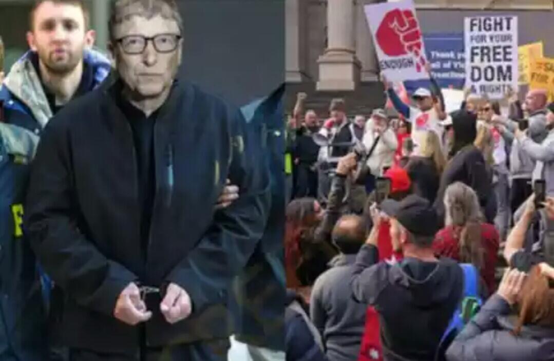 Heboh FBI Tangkap Bill Gates karena Ciptakan Virus Corona.