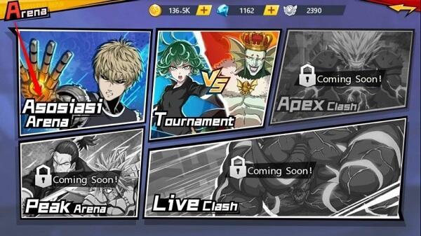 Ketagihan Main One Punch Man: The Strongest di HP Ane