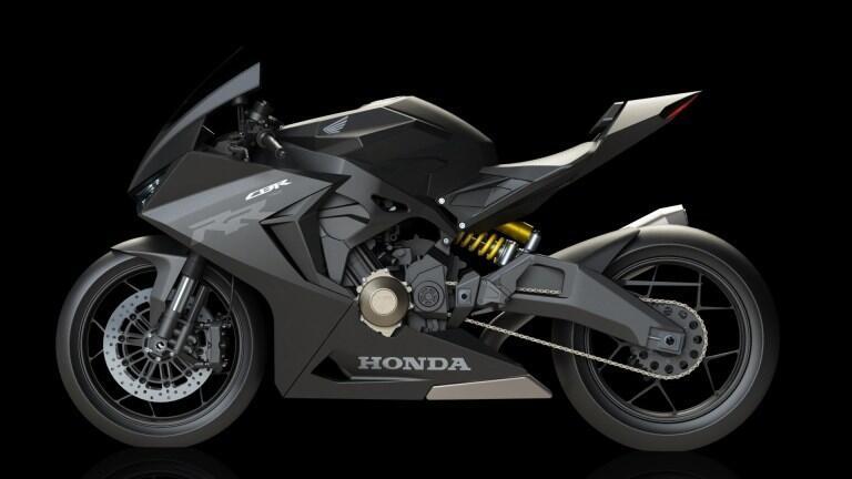 Penampakan Honda CBR250RR 4 Silinder Terungkap