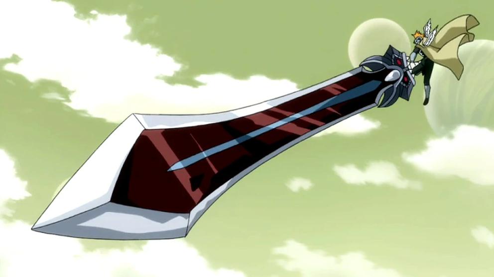 5 pedang Anime Berukuran Jumbo, (kok Kuat Banget Ngangkatnya ?)