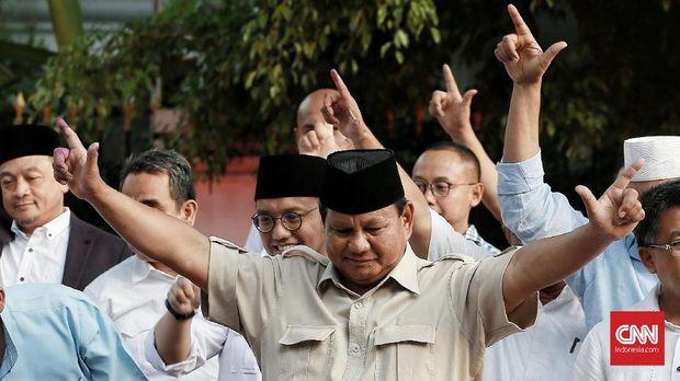 Survei Capres 2024: Prabowo Tertinggi, Ganjar dan RK Muncul