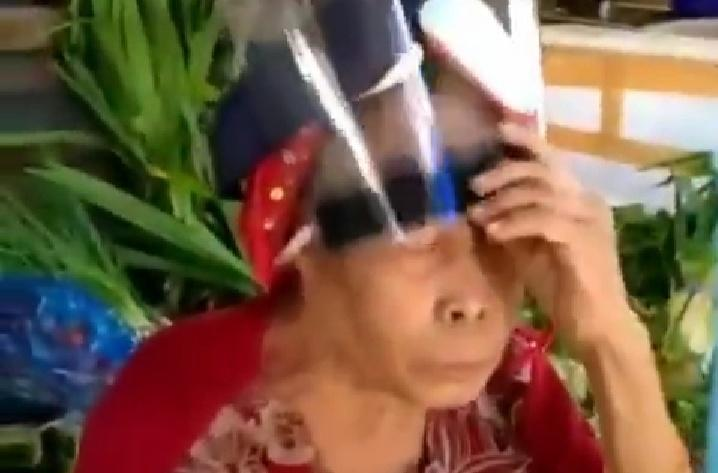 Heboh Video Lucu Nenek Gunakan Face Shield! Yakin Masyarakat Siap New Normal?