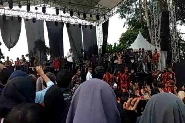 Rhoma Irama dan Rita Manggung di Pamijahan, Bupati Minta Aparat Bertindak Tegas