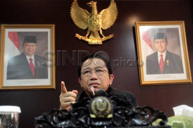Marzuki Alie: Pak Jokowi Jangan Marah, Nanti Sakit, yang Rugi Rakyat