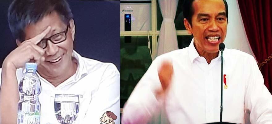 Sindir Jokowi Marahi Menteri-Menteri, Rocky Gerung: Marah kok Pakai Teks