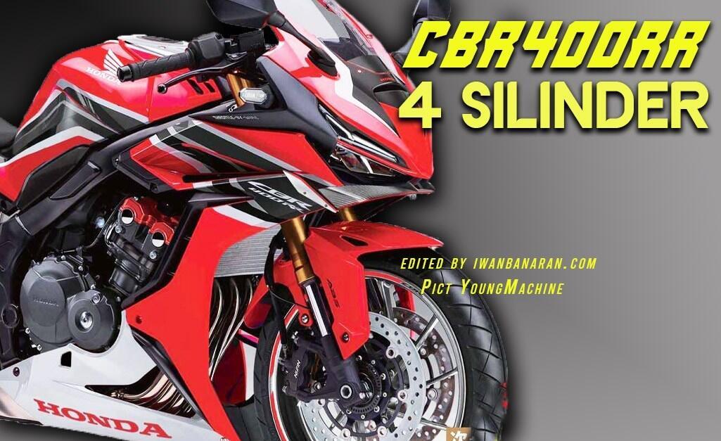 Usung Mesin 400cc 4 Silinder, Ini Dia Calon Motor Sport Baru Honda