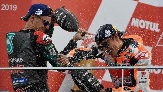 Jelang MotoGP 2020, Quartararo vs Marquez Memanas