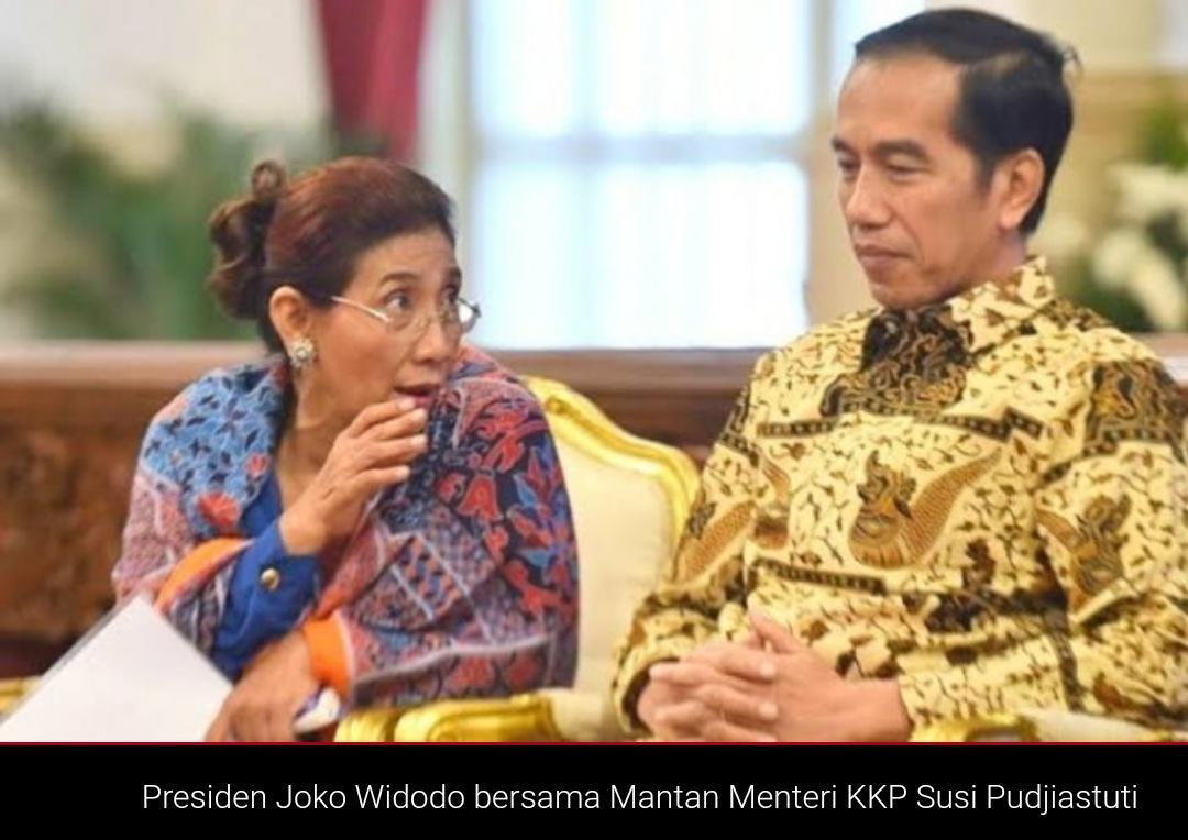 Jokowi Bakal Reshuffle Kabinet, Netizen: Pak Presiden, Susi Pudjiastuti Paling Layak