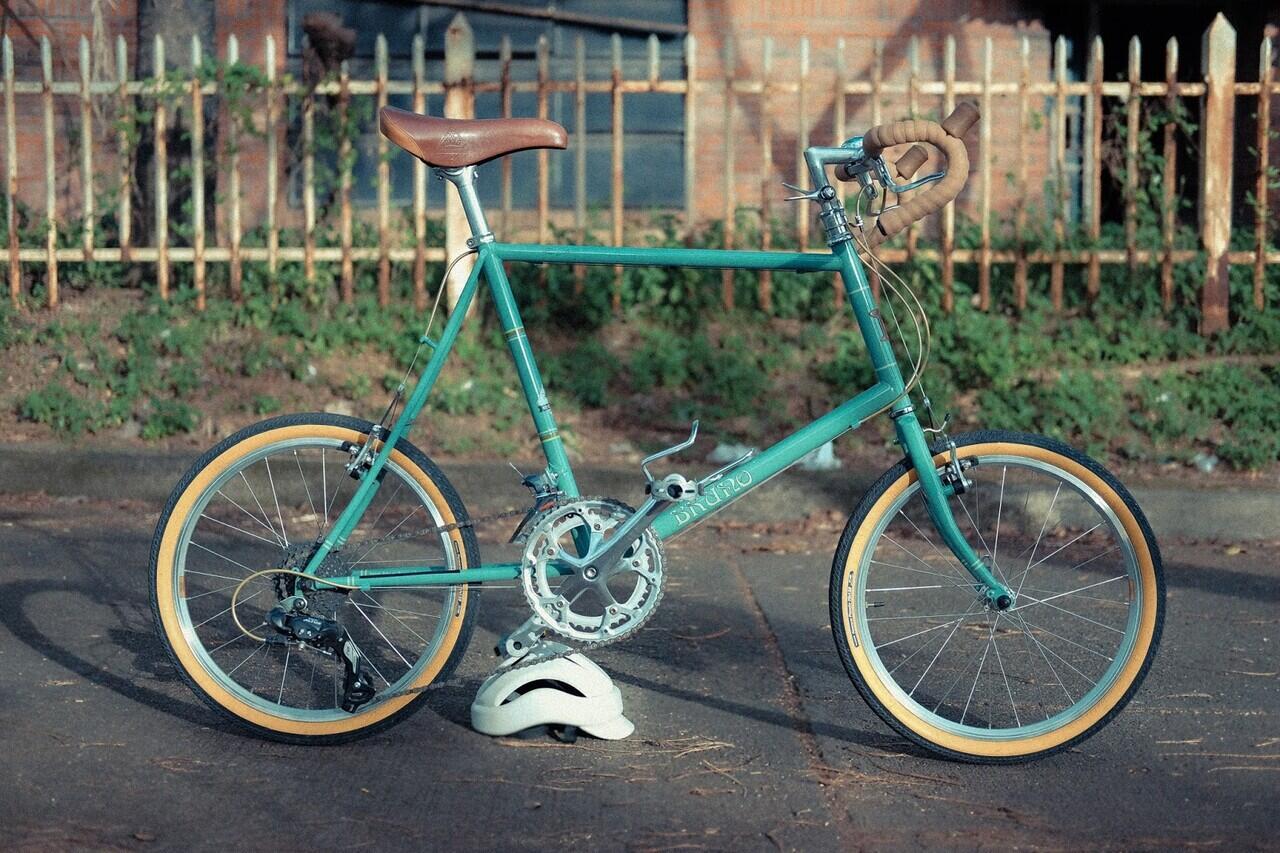 Mini Velo! sepeda keren yang gak kalah keren dari Brompton