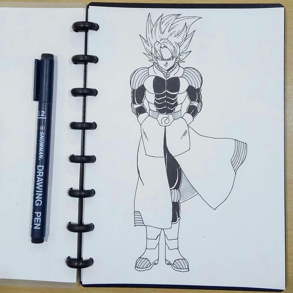 Mari menggambar karakter anime/kartun favorit