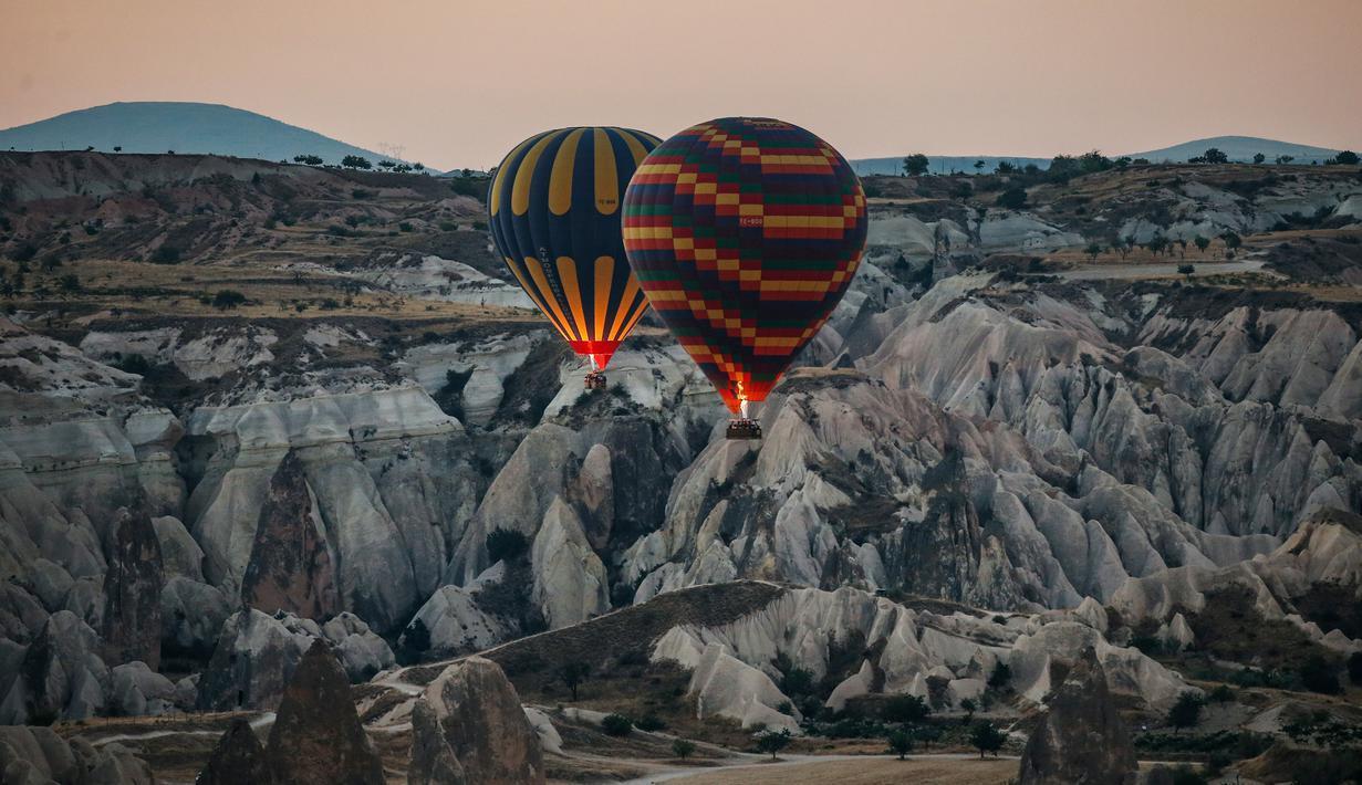 Sejarah & Romantisme Kota Cappadocia