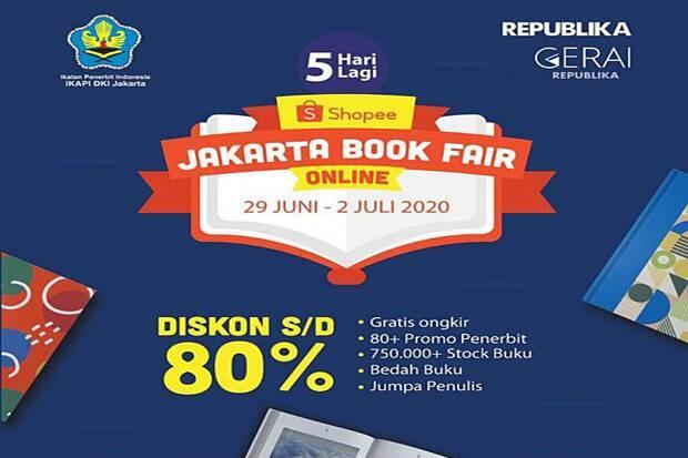 Kolaborasi dengan Shopee, IKAPI Gelar Jakarta Book Fair Online