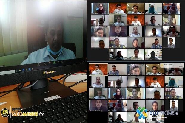 PPSDM Geominerba Gelar Pelatihan DTIKT 3 Hari secara Daring