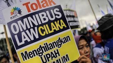 Corona Masuk DPR, Omnibus Law Jalan Terus