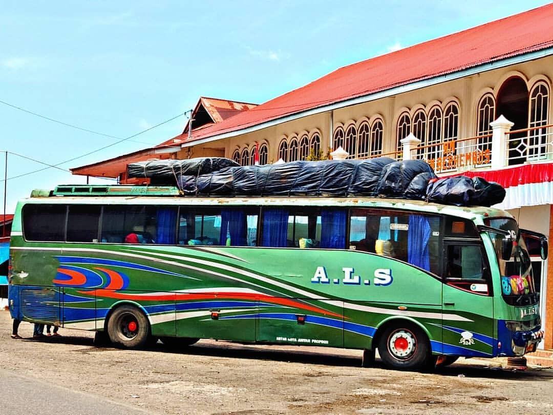 RM. Angin Berhembus, Tempat Istirahat Bus ALS Dengan Pemandangan Paling Indah