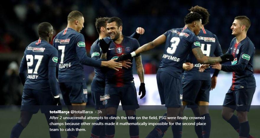Liga Inggris, Spanyol, dan Italia Lanjut, Ligue 1 Jadi Anak Tiri