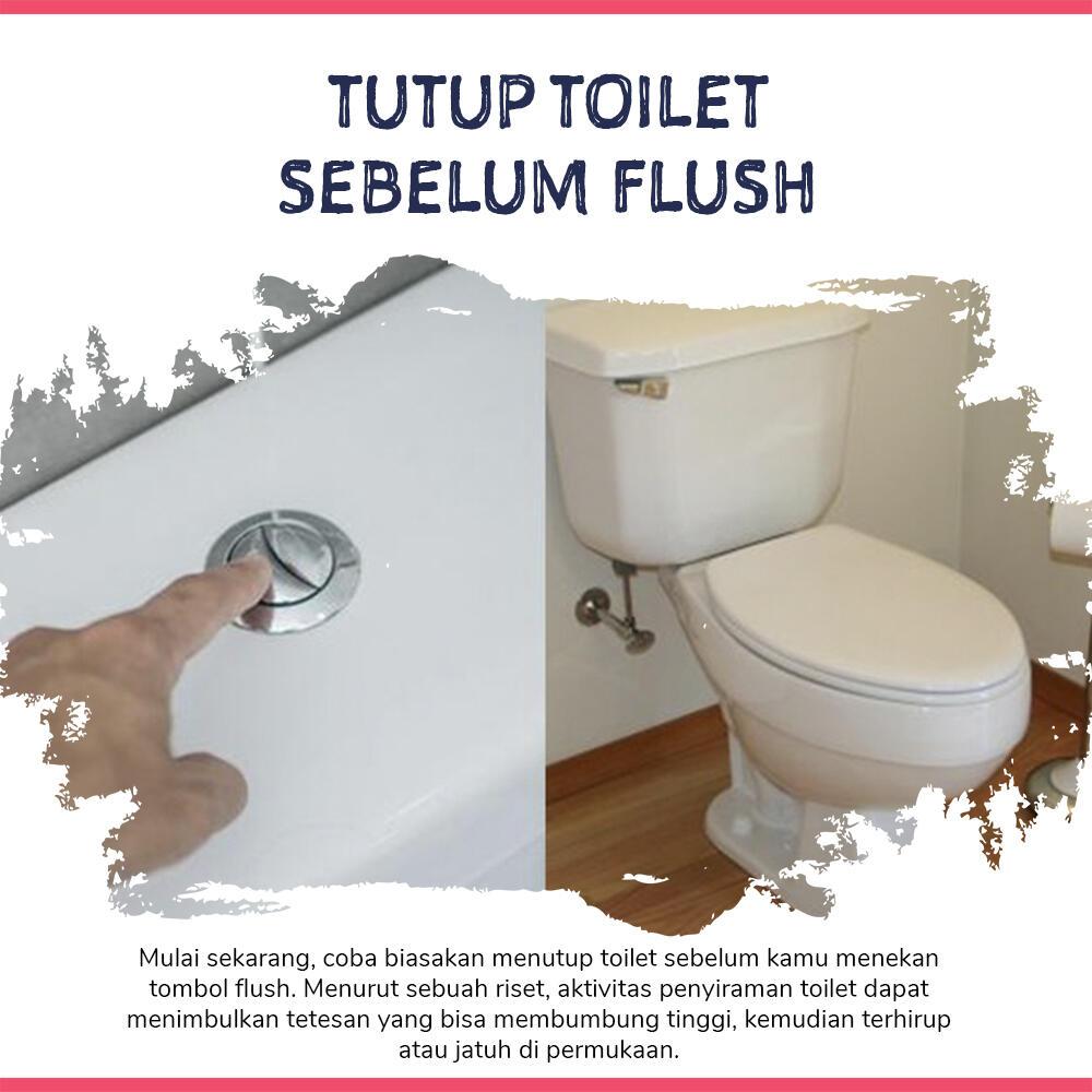 7 Cara Aman Menggunakan Toilet Umum Saat New Normal