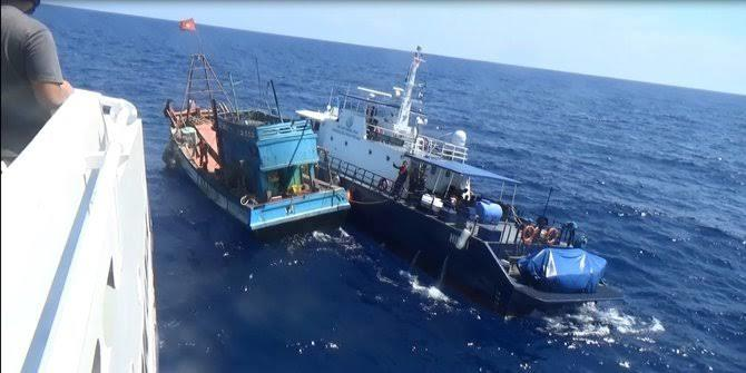 Lawan China, Indonesia Ganti Nama 'LCS' Jadi Laut Natuna Utara