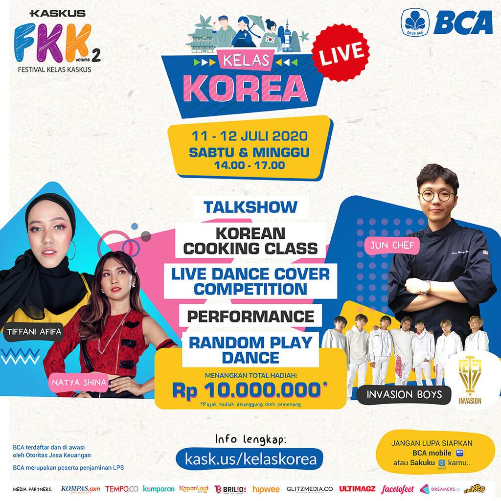 #FestivalKelasKaskus Vol 2 - Kelas Korea