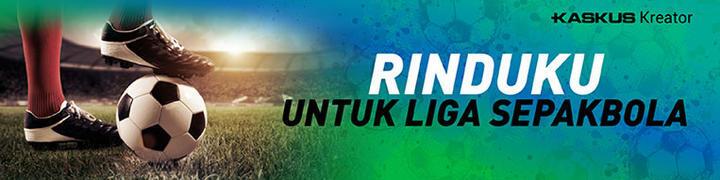 Semoga Makin Jaya Liga Sepakbola Indonesia.