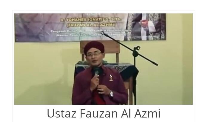 Ustaz Fauzan Al Azmi Ngaku Anak Kardinal, Guntur Romli Minta Polisi Bertindak