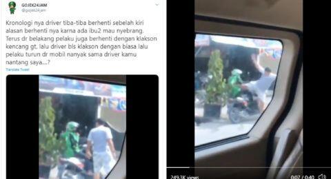 Viral! Tendangan Kungfu Pemuda Pekanbaru ke Driver Ojol Berakhir di Polisi