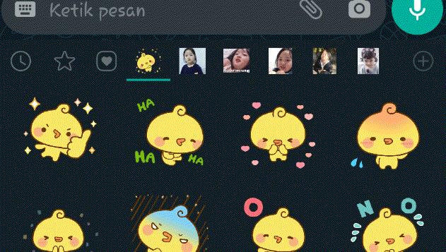 WhatsApp Luncurkan Fitur Baru, Ada Stiker Animasi Lucu Gan!