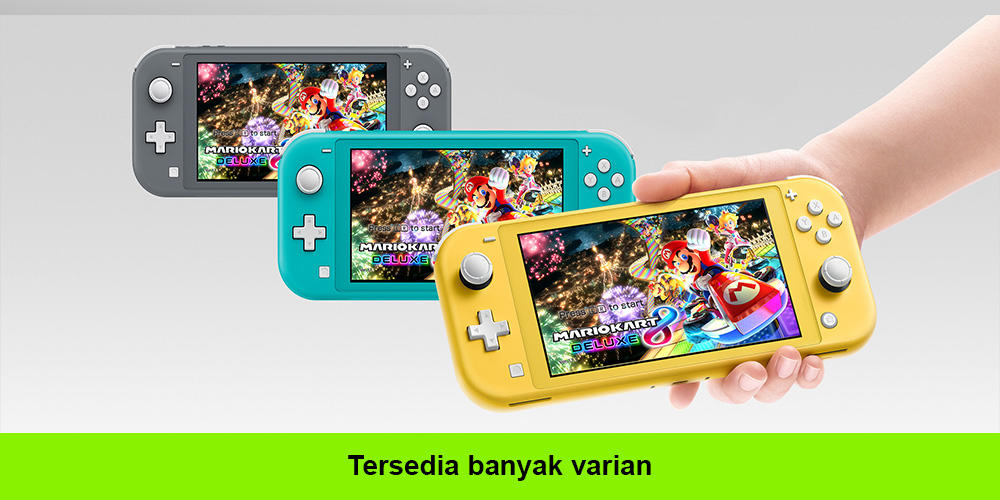 Review Produk Nintendo Switch Lite Tahun 2020