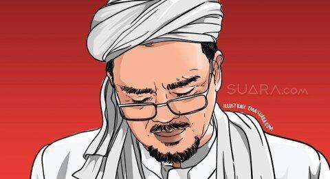 Novel Alaydrus: Wali yang Masih Hidup Kelihatan Nyata, Ya Habib Rizieq