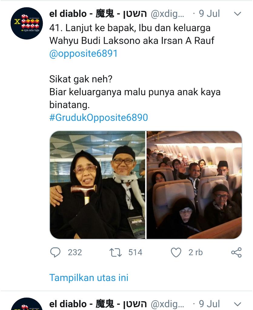 Ust Haikal Hasan: Catat Akunnya, Lihat Rekam Jejaknya, Suatu Saat Diperlukan!
