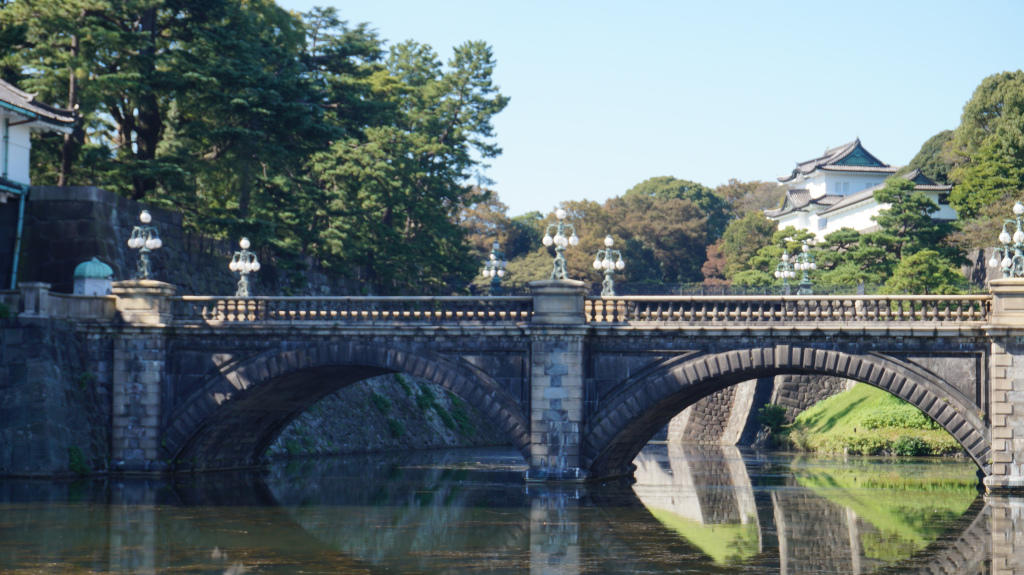 Nyamannya, Main di Istana Kaisar Zaman Edo dan Taman Imperial Park