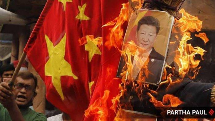 China Kini MENGIBA pada India Mengakhiri Aksi BOIKOT Produk China