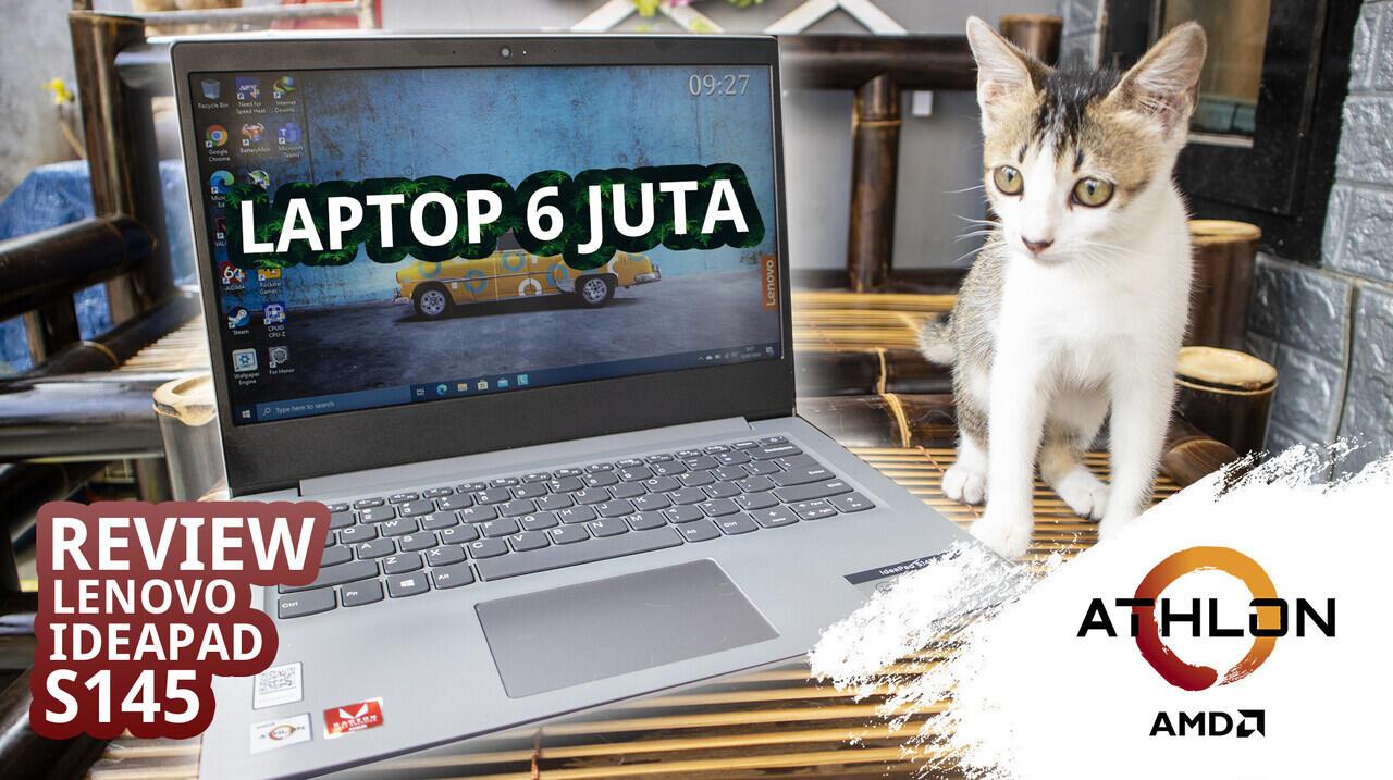 Lenovo Ideapad S145 Athlon 300U Laptop performa tinggi untuk kegiatan sehari hari