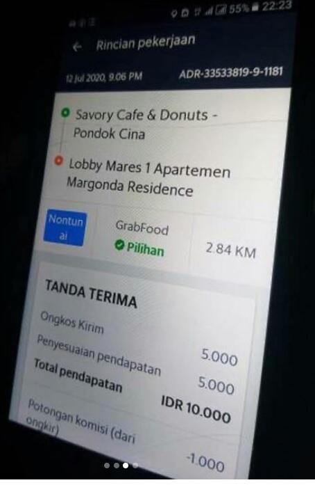 Driver Ojol Yang Dimaki Customer Berwajah Mirip Pak Soeharto, Bikin Salfok Gan!