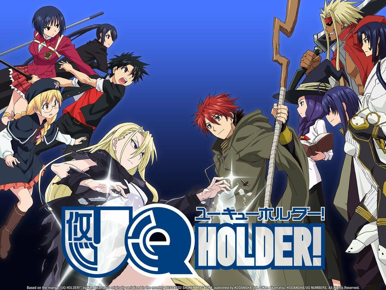 UQ Holder! & Magister Negi Magi/Mahou Sensei Negima!