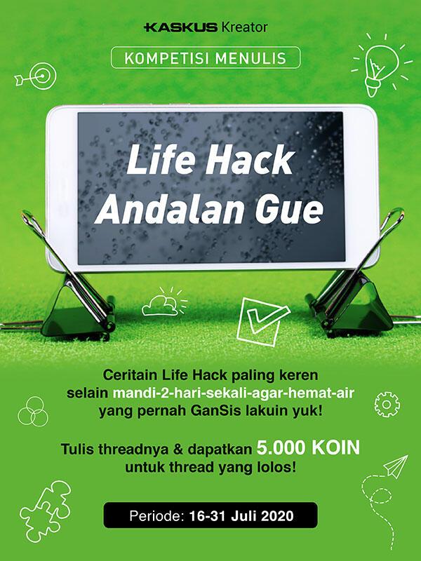 Bagi-Bagi Tips Tips Life Hacks Andalan Versi Agan di Sini, Ada Bonus Koinnya Loh!